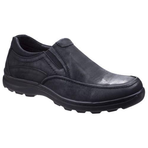 Fleet & Foster Goa Touch Fastening Mens Shoes Black
